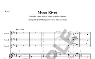 Moon River - sample page