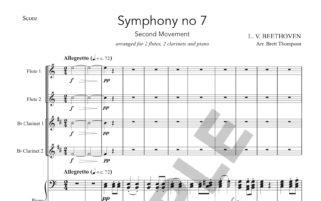 L  V    Beethoven - Four and Twenty Music
